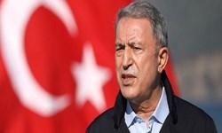 وزیر دفاع ترکیه: 68 تروریست در شمال عراق کشته شدند