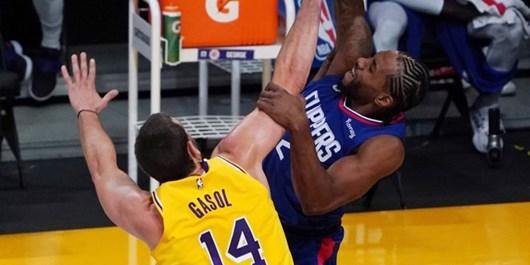 لیگ بسکتبال NBA| کلیپرز جای لیکرز را در صدر جدول گرفت