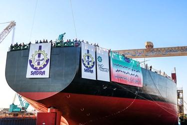 نفتکش اقیانوس پیمای افراماکس ساخت شرکت صدرا
