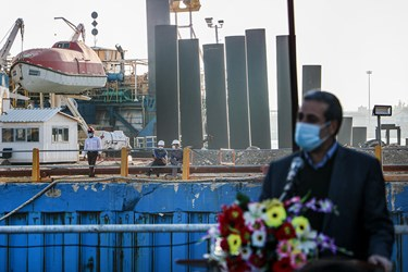 رونمایی از نفتکش اقیانوسپیمای ساخت ایران