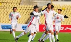 پیروزی تیم فوتبال نوجوانان ایران بر تاجیکستان + تصاویر