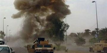 یک کاروان لجستیک دیگر آمریکا در عراق هدف قرار گرفت