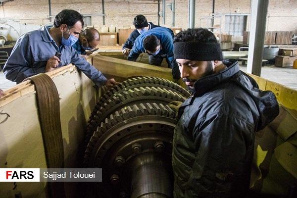 13991006000026637445428003097838 95904 PhotoL - تولید 50 هزار قطعه مورد نیاز نیروگاه شهید سلیمی نکا در داخل/ با تحریم، تلاشمان دو چندان شد