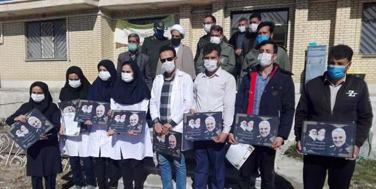 مکتب سلیمانی| رهپویان مکتب شهید سلیمانی اینبار در میدان دفاع از سلامت مردم نقشآفرینی میکنند