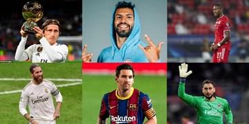 15 بازیکن برتر دنیا که قراردادشان تابستان تمام میشود؛ از مسی، راموس و مودریچ تا مهاجم گواردیولا