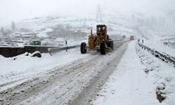 راه ارتباطی ۲۸ روستای مسدود شده ناشی از کولاک در شهرستان چالدران باز گشایی شد