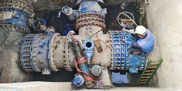 نوسازی دو شیرخط اصلی بدون اعمال قطع آب در شهر