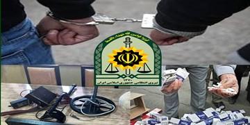 از کشف 5هزار نخ سیگار قاچاق تا دستگیری عاملان سرقت از منازل مسکونی در شهرکرد