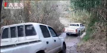 فیلم| تلاش جهادگران قرارگاه پیشرفت و آبادانی در ساخت کانال آب کشاورزی یک روستا