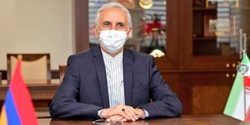 رایزنی مقام ارمنستانی و سفیر ایران درباره مسائل امنیتی و اقتصادی