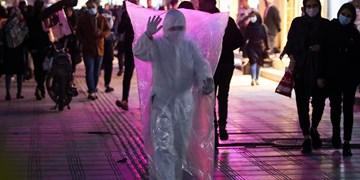 نمایش خیابانی با موضوع پیشگیری از ابتلا به کرونا