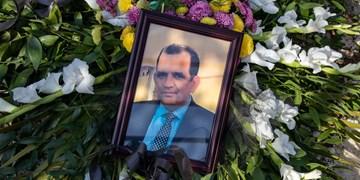 خاکسپاری شهید مدافع سلامت |||  دکتر نوید ذکری