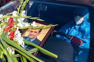 خاکسپاری شهید مدافع سلامت      دکتر نوید ذکری