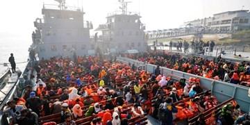 انتقال ۱۸۰۰ پناهنده دیگر روهینگیایی به جزیرهای دورافتاده در بنگلادش