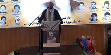 مراسم ۹ دی در مشگین شهر برگزار شد/ مردم ایران اسلامی با کسی عقد اخوت نبستهاند