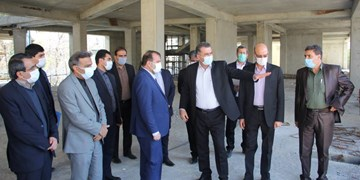افتتاح مدرسه ۱۵ کلاسه ناحیه سه شیراز