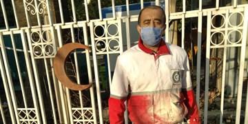 نجات جان سرنشینان یک خودرو توسط نگهبان هلال احمر فارس