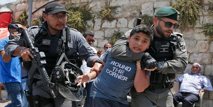 فلسطین  بازداشت 4700 نفر از جمله 500 کودک  و 118 زن در سال 2020