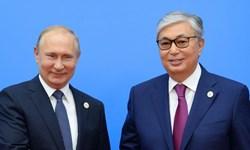 پیام تبریک سال نو میلادی «پوتین» به «نظربایف» و «تاکایف»