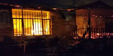 بیاحتیاطی علت آتش گرفتن  مخزن گاز مایع در آمل/ هشدارهایی برای در ایمن ماندن در زمان حوادث