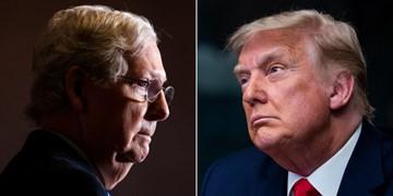 عمیقشدن اختلافات در حزب جمهوریخواه؛ انتقادات مککانل به مذاق ترامپ خوش نیامد