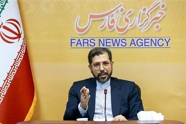 بازدید سخنگوی وزارت امور خارجه از خبرگزاری فارس