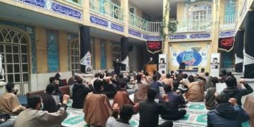 تجمع طلاب و روحانیون  ورامین در حوزه علمیه امام صادق(ع)