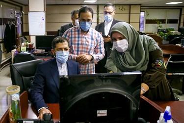 بازدید سخنگوی وزارت امور خارجه از تحریریه خبرگزاری فارس