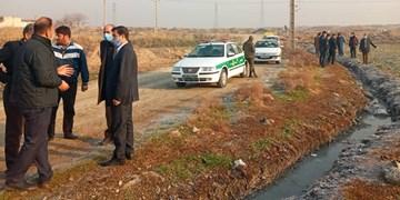 آبیاری اراضی کشاورزی با آبهای نامتعارف در کهریزک متوقف میشود/ ۲ نفر بازداشت شدند