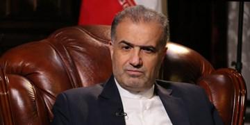 توئیت سفیر ایران در مسکو درباره اجرایی شدن پروژههای خط ریلی در ایران