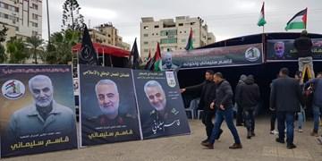 رهبر جهاد اسلامی: حاج قاسم طراح ایده آموزش ساخت موشکهای دوربرد در غزه بود
