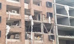 انفجار گاز در اهواز/ از برجای گذاشتن 12 مصدوم و چند مفقود تا ورود تیمهای زندهیاب به منطقه