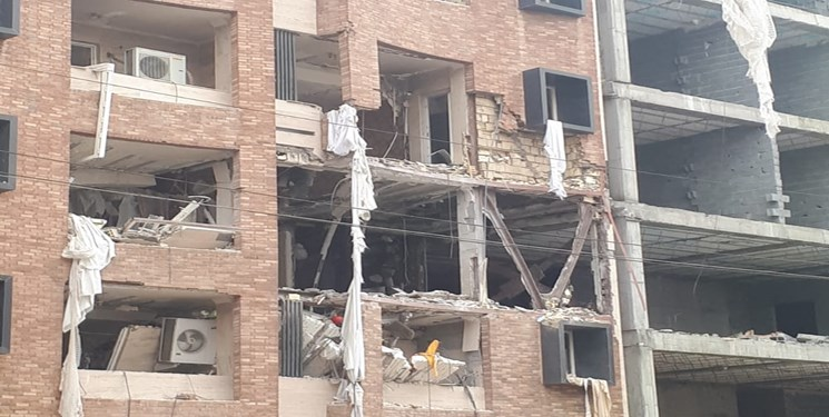 آخرین وضعیت انفجار گاز در اهواز/ تا کنون فوتی گزارش نشده است