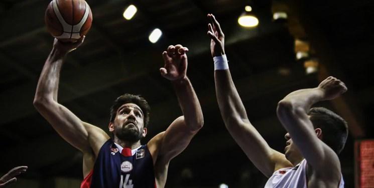 لیگبرتر بسکتبال| شیمیدر خانه بسکتبال خوزستان را 100 تایی کرد