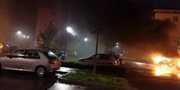 فیلم| خشونتهای شب سال نو در فرانسه؛ دهها خودرو به آتش کشیده شد