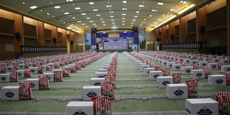 کمک مؤمنانه در کرمان| توزیع ۲۰ هزار بسته معیشتی در آستانه عید فطر