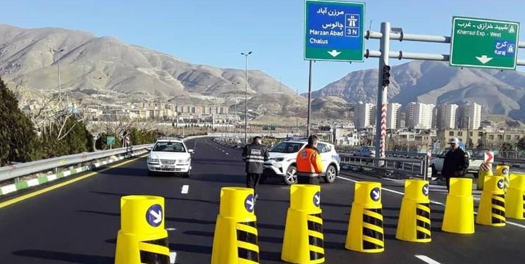 رصد میزان تردد خودرو در جاده ها با 2300 دستگاه ترددشمار/ ۸ جاده مسدود است