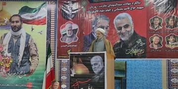 برگزاری مراسم سالروز شهادت سردار سلیمانی در خلخال/ مردم ایران قدردان ایثار شهدا هستند