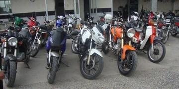 کشف 83 موتورسیکلت و خودروی مسروقه در هرمزگان در یک طرح ضربتی پلیس