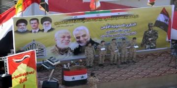 عکس| تجدید عهد اهالی بوکمال سوریه با سردار حاج قاسم سلیمانی