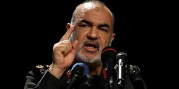 سردار سلامی به شبکه روسی: دوران بزن و دررو تمام شده است