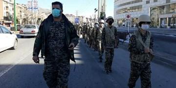 پیادهروی «اقتدار بسیج» در پردیس به یاد شهید سلیمانی
