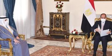 دو روز مانده به اجلاس ریاض؛ دیدار فرستاده امیر کویت با السیسی