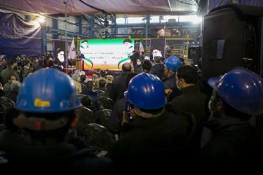 افتتاح مجتمع فولاد  در بناب