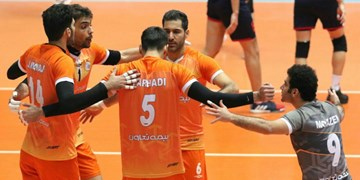 لیگ برتر والیبال| شهرداری قزوین روی نوار شکست/ سایپا برد