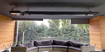 تامین گرمایش فضای باز تراسها و ویلاها با گرماتاب