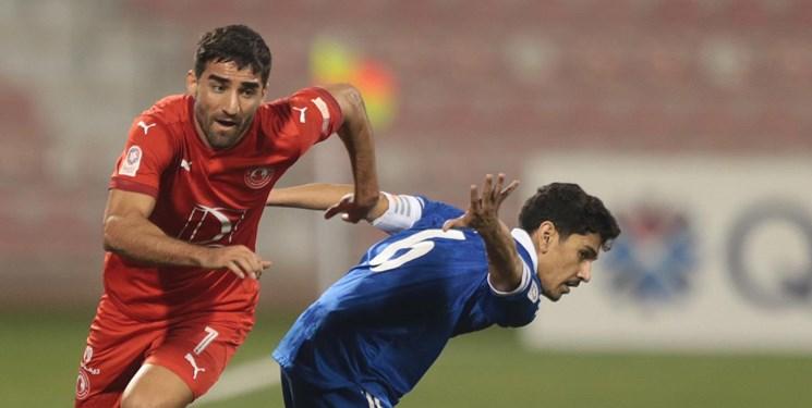 آمار عالی مهرداد محمدی به همراه العربی قطر+عکس