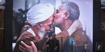 عکس| گرامیداشت سردار دلها در حرم شهدای رشت