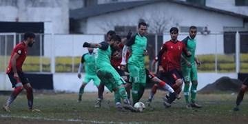 اعلام ورزشگاه یک مسابقه از هفته هفدهم لیگ یک