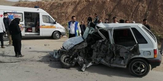 مصدوم شدن 7 نفر در سانحه تصادف محور پلدختر-اندیمشک